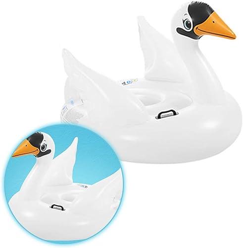 Tongda Huanyu Schwimmring des Grün WeißEn Vogelschwimmenring-Spielzeugs Der Erwachsenen Kinder des Tierwassers Schwimmen Reihe Aufblasbares Sich Hin- Und Herbewegendes Bett