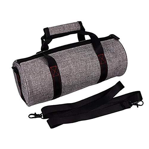 KT-CASE Bolsa para accesorios de altavoz Tronsmart T6 Plus Bluetooth, bolsa de almacenamiento portátil (gris)