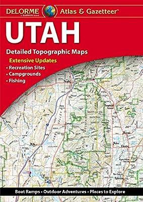 DeLorme Atlas & Gazetteer: Utah by DELORME PUBLISHING