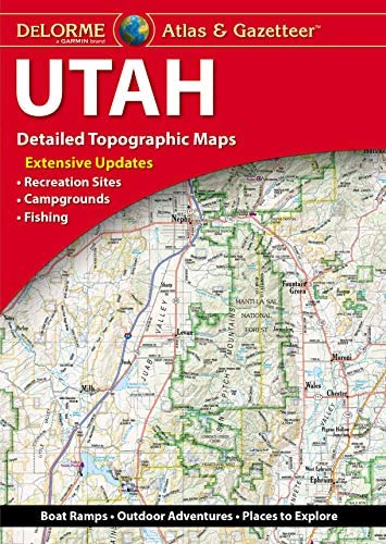 DeLorme Atlas Gazetteer Utah product image