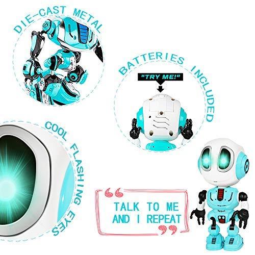 Tesoky Spielzeug für Jungen 3 4 5 6 7 8 Jahre, Roboter Kinderspielzeug Geschenke Mädchen Jungen 3-8 Jahre Spielzeug ab 3-8 Jahren für Jungen Mädchen Kinderspielzeug ab -8 Jahre Blau - 3