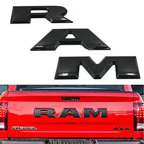 TDPQR 3D Chrom Sticker Abzeichen Emblem,für Dodge Auto Front Kühlergrille Heck Kofferraumflanken Emblem Aufkleber Abzeichen Auto Styling Dekorative Zubehör