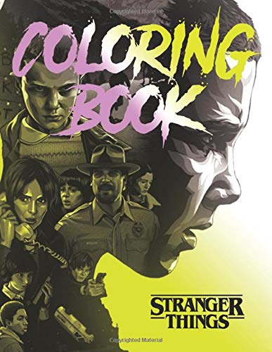 Stranger Things Coloring Book: JUMBO Coloring Book For Kids
