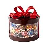 リンツ (Lindt) チョコレート リンドールギフトボックス 50個入り ショッピングバッグL2付