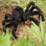 MOLEK negro araña peluche juguete para halloween fiesta de miedo...