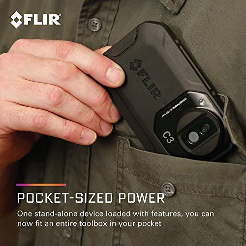 FLIR C3 Wärmebildkamera im Taschenformat mit Wifi - 8
