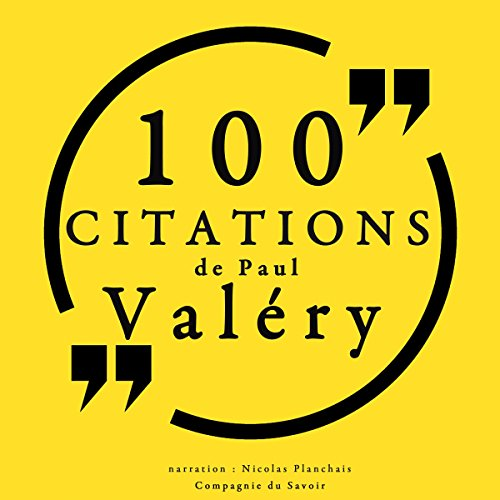 100 citations de Paul Valéry audiobook cover art