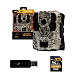 SPYPOINT Force-Dark Trail Camera 42 LED Invisible Infrared Flash Game Camera with 110-foot Detection Range Trail Cam 12MP 0.07-second Trigger Speed