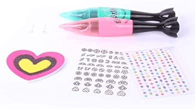 Eternitry DIY Maquillaje Juguete para Niños Nail Art Pen Set No Tóxico Esmalte De Uñas Set 3D Nail Art Decoration