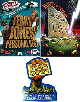 Satire Flying Pythons Best Monty Python Meaning of Life DVD & Movie Flying Circus Terry Jones Sketch & Piss Off Sticker!