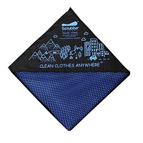 Scrubba - Toalla de Microfibra para Gimnasio, Playa, natación, Viajes, Yoga, Deportes de Secado rápido, 137 x 64 cm