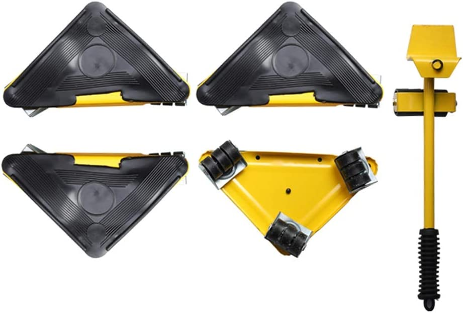 OUUCL Large discharge sale 4 Sliders Furniture Lifter for Moving Fashion Easy Move and - Safe