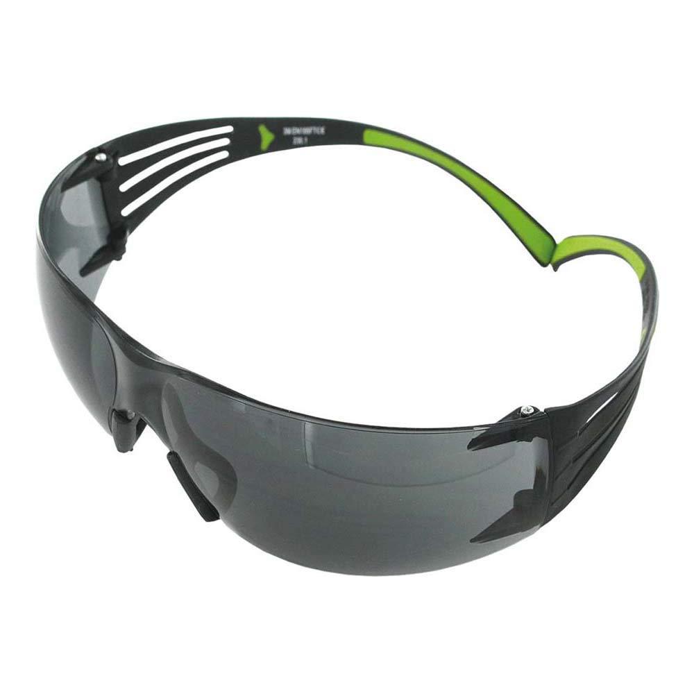 3M SecureFit sf402af gafas de seguridad, antiarañazos, antivaho, gris lente