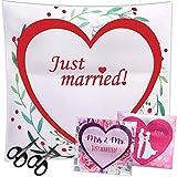 LionSports Festliches Hochzeitsherz zum Ausschneiden + Perfektes Hochzeitsspiel für eine traumhafte Hochzeit + Geschenk + Komplimente zum Verschenken + Dieser Hochzeitstag Wird...