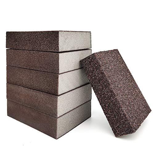 JJYHEHOT Esponja De Lijado, 36/60/100/120/180/220, Contiene 6 Especificaciones, Se Utiliza Para Pulir Productos De Madera Y Relleno (6 Piezas)