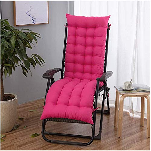 Sun Lounger Cushions - Only Cushions, Garden Furniture Cushions - Portable Garden Patio Thick Padded Bed Recliner Relaxer Chair Seat Cover for Travel/Holiday/Indoor/Outdoor