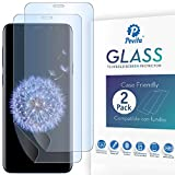 Pevita Protector de Pantalla Samsung Galaxy S8 Plus/Samsung Galaxy S9 Plus. [2 Packs]. Dureza 9H, Sin Burbujas, Fácil Instalación. Protector Hidrogel Premium para Samsung Galaxy S8 Plus/ S9 Plus