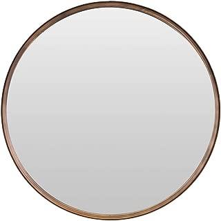 Geometric Mirror Specchio da Parete Circolare con 4 Laccetti Colorati Misure Cm 35