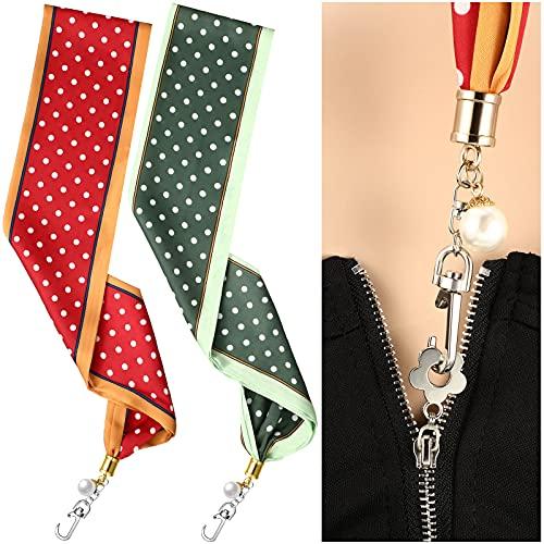 2 Pieces Dress Zipper Helper Zipper Puller for Boots Zipper Pull Assistant...