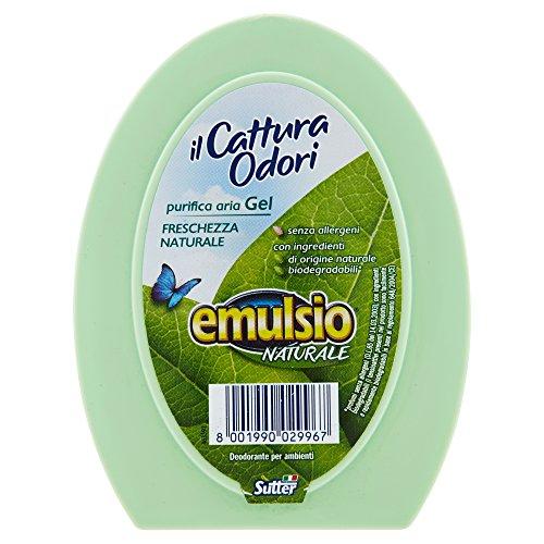 Emulsio Naturale 0299613 Ilcattura Odori Gel Freschezza Naturale, 150g