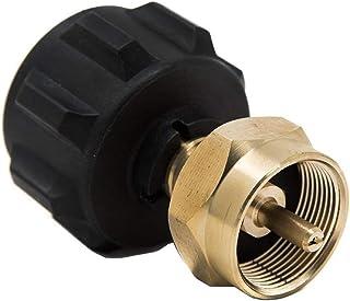 GasOne 50180 Refill Adapter for 1lb Propane Tanks & Fits 20lb Tanks, Black