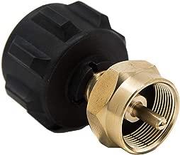 GasOne Propane Refill Adapter for 1lb Propane Tanks & Fits 20lb Propane Tank QCC/Propane Refill/Great for rv Propane Adapter refills/1lb Propane Adapter