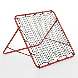 Frame Colour: Red Rebound Surface: 100 x 100cm Approx Tube Diameter: 2.5cm Approx Adjustable Angles