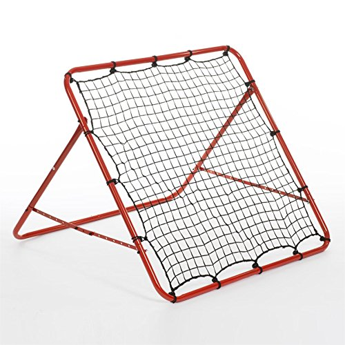Rexco Rebounder Net Target Ball Kickback Soccer Goal Football Training Game Kids Childrens Target Practice Aid