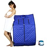 Keepus Store Portable Steam and Sauna Bath Therapeutic Home Spa Cleaning Kit for Men and Women (Colour May Vary, 48 x 33 x 48 cm)