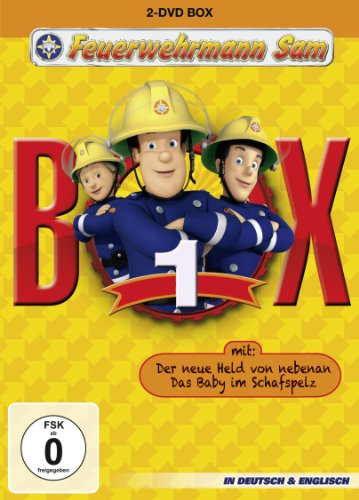 Feuerwehrmann Sam Box 1 (ink. Der neue Held von Nebenan & Das Baby im Schafspelz) [2 DVDs]