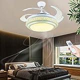 Ventilador de techo con iluminación y mando a distancia Luz de techo moderna...