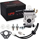 Hipa Carburetor + Primer Bulb Fuel Line Filter for RedMax Red Max EB4300 EB4400 EB4401 EB431 EB7000 EB7001 Backpack Leaf Blower