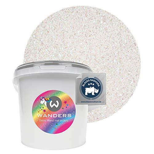 Wanders24® Einhornspucke (3 Liter) Wandfarbe Glitzer - Glitzerfarbe für Wand - ungiftig - Glitzer Wandfarbe - Made in Germany