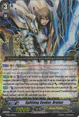 Cardfight   Vanguard TCG - Splitting Seeker, Brutus (FC02 001EN) - Fighter's Collection 2014 by Cardfight   Vanguard TCG