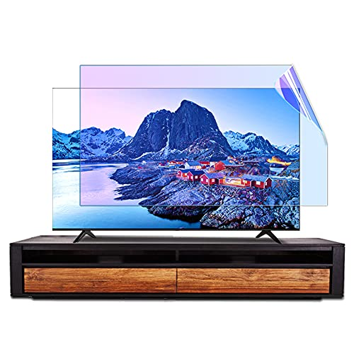 WSHA Protector de Pantalla de TV Mate antirreflejo/Anti luz Azul/Película antiarañazos Que suaviza la luz y Alivia la Fatiga Ocular, para Pantallas LCD, LED, 4K OLED y QLED HDTV,70 Inches(1538x869mm)