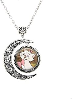 Aristocats Marie Moon Necklace