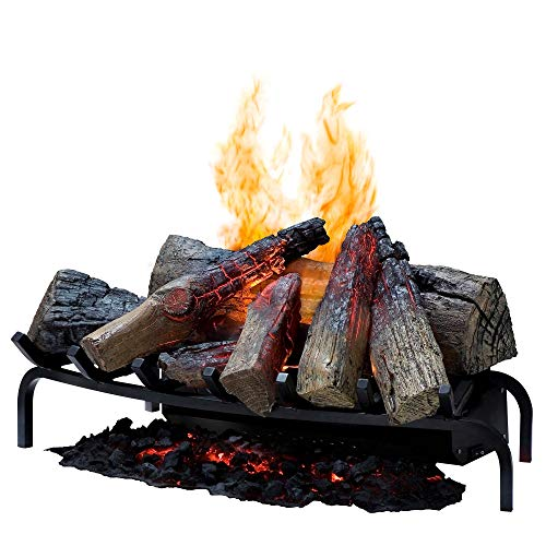 Dimplex DLGM29 Opti-Myst Open Hearth Fireplace Insert with Faux Logs