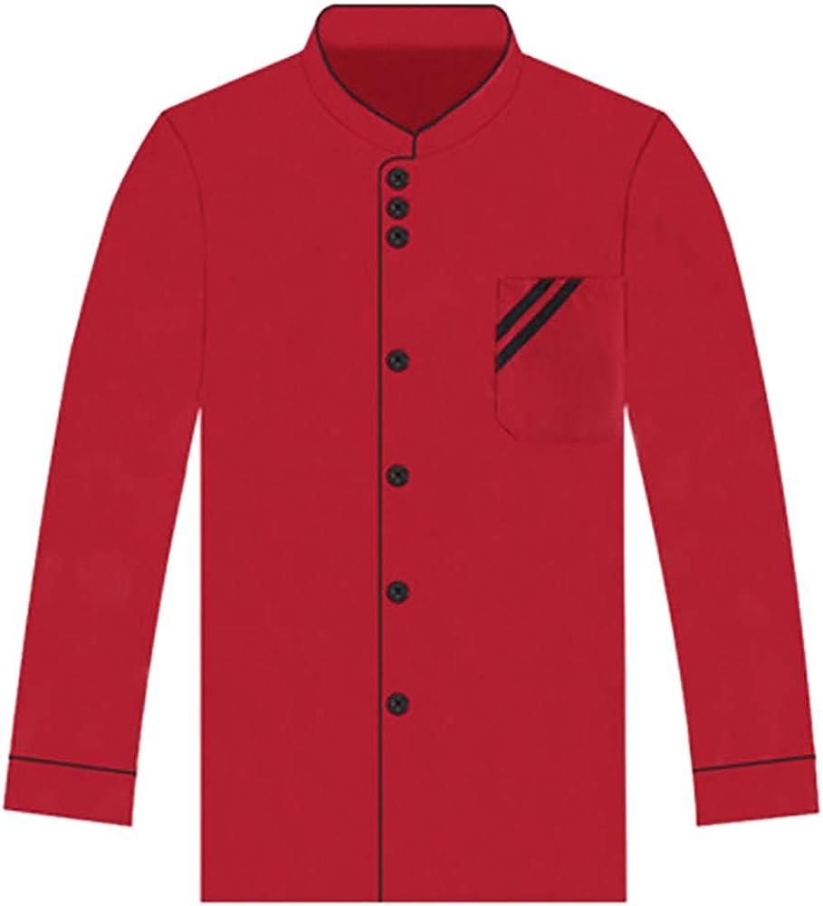Unisex Online limited product Chef Coat Free shipping Jacket Short Sleeve Long Women Kitch Men