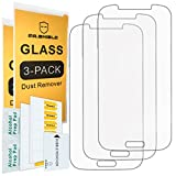 [3-PACK]-Mr.Shield For Samsung Galaxy S4 [Tempered Glass] Screen Protector [Japan Glass With 9H Hardness] with Lifetime Replacement