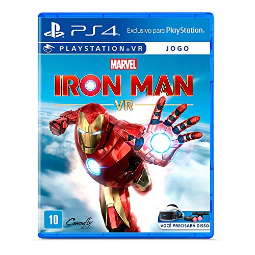 Jogo Marvel's Iron Man VR para PlayStation 4 VR