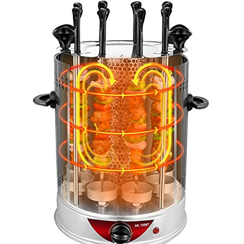 FUTN Elektrische indoor rookloze grill van warm tot sear voor op maat gemaakte BBQ grillen, vaatwasmachinebestendig, afneembare lekbak