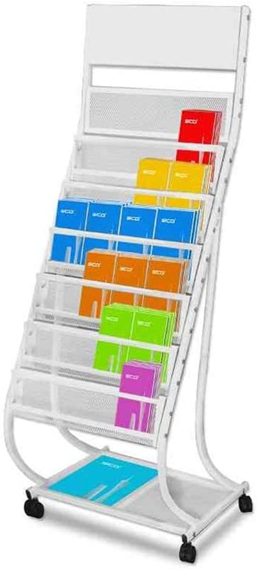 GBY A surprise price is realized Floor 5 ☆ very popular Magazine Rack L Storage Multi-Layer