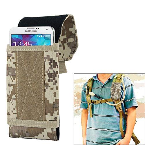 Outdoor Handytasche Militär Tarnmuster Rucksack Handytasche 17x8,3x3,5cm Smartphonetasche Schutzhülle Jäger für Samsung Galaxy S5 S4 S3 S2 iPhone 5 5S iPhone 4 4S