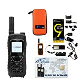 SatPhoneStore Iridium 9575 Extreme Satellite Phone Standard Package with Tough Case, Protective Case and Blank Prepaid SIM Card Ready for Easy Online Activation