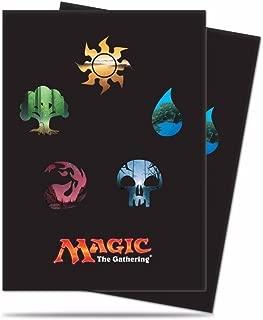 Magic the Gathering Standard Deck Protectors - Mana Symbols (80)