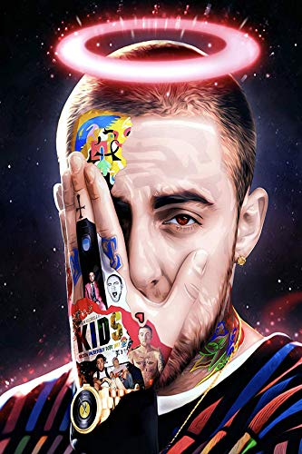 Aka aka MAC Miller Poster Wall Art Decor Print 12'x 18' inches Picture Paintings for Living Room Bedroom