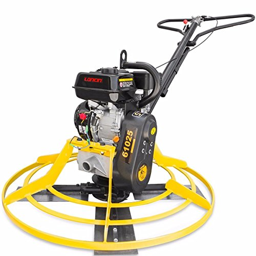 Stark 196cc Walk-Behind Power Trowel Gas Engine Concrete Cement Surface Smooth Gasoline Motor w/Handle