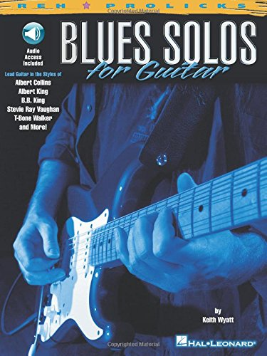 BLUES SOLOS FOR GUITAR TAB BOOK (Downloadable code is included) (Prolicks)