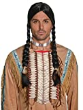 Smiffys Adult Unisex Native American Inspired Indian Beaded Breastplate, Cream