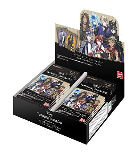 ディズニー ツイステッドワンダーランド メタルカードコレクション パックVer. (BOX)